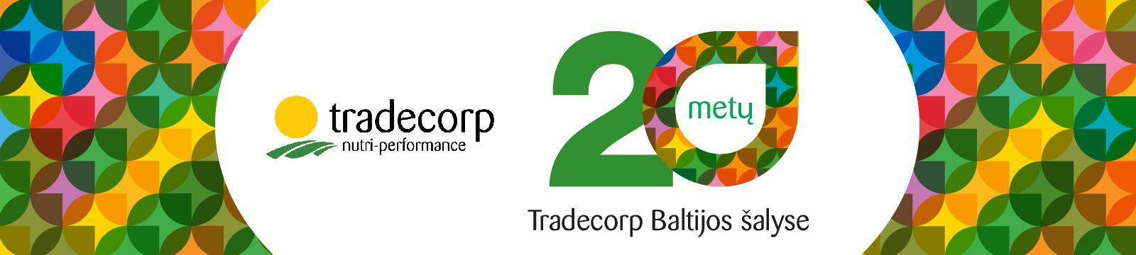 Švenčiame Tradecorp jubiliejų Baltijos šalyse!